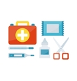 First aid symbols vector image vector image