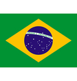 Flag of Brazil vector image