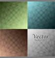 four different colored abstract backgrounds vector image