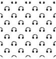 headphones pattern seamless vector image
