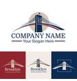 logo brooklyn vector image vector image