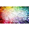 Pixel background colors vector image vector image