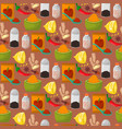 spices condiments seamless pattern backgroun vector image vector image