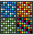 Stained-glass window patterns vector image