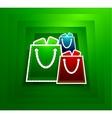 Go shopping concept EPS10 vector image