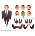 business elements for web design vector image vector image