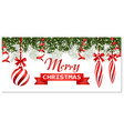 new year christmas flyer business cards vector image