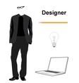 Designer vector image vector image