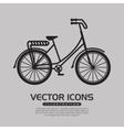 retro bicycle design vector image vector image