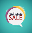 Autumn Sale Banner Poster Flyer vector image vector image