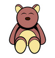baby bear icon cartoon vector image vector image