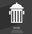 fire hydrant icon symbol Flat modern web design vector image
