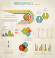 minimal infographics 5 vector image vector image