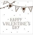Romantic card concept vector image vector image
