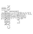 where to find last minute caribbean travel deals vector image vector image