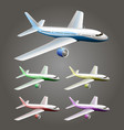 an aircraft vector image vector image