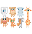 cartoons animals vector image vector image