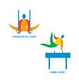 Gymnastics Icon vector image