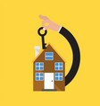 home buying conceptual vector image