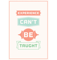 Inspiration typography quote vector image vector image