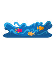 Waves river isolated icon