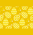 tribal geometry concept easter egg decoration vector image