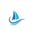 cruise ship icon design vector image vector image