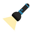 flashlight camping icon image vector image vector image