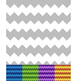 geometric patterns with zigzag lines seamlessly vector image