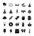 party glyph icon vector image
