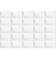White tile ceramic texture vector image vector image
