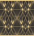 abstract art deco geometric pattern 61 vector image vector image
