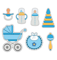 Baby icon boy vector image