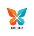 butterfly - business logo template creative vector image