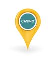 Casino Location vector image vector image
