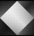 geometrical seamless black and white square vector image vector image