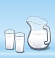 Milk Jug vector image vector image