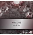 Silver crystal abstract pattern Business Design vector image vector image