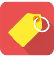 Tag icon vector image vector image