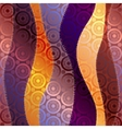 Waves patchwork in chinese dtyle and silk effect vector image