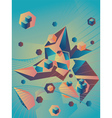 Geometric Abstraction vector image vector image