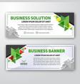 modern corporate banner background design vector image vector image