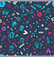seamless pattern wrapping paper design template vector image vector image