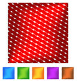 squares with diagonal wavy zigzag stripes cut in vector image