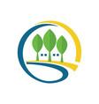 tree letter g company logo vector image