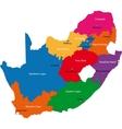 Sourh Africa vector image