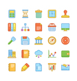 Business Icons 4 vector image