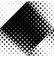 abstract seamless monochrome square pattern vector image vector image
