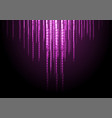 dark purple abstract shiny background vector image