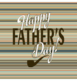 Fathers festivity vector image